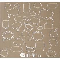 Placas Estampado Diseño De Uñas Sello Pensamientos # G13