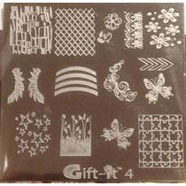 Placas Estampado Uñas Sello Collage Tipo Konad # G4
