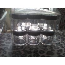 Envases Frascos De Acrilico 1\4 Oz 24 Frascosx$90