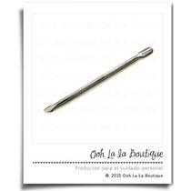 Gubia De Metal Para Manicure Cuticula Decoracion Uñas #00018