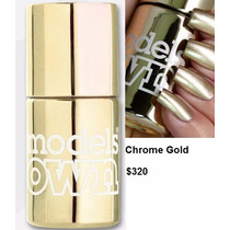 Models Own Esmaltes Cromados Chrome Collection Efecto Espejo