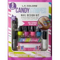 Kit Para Diseño De Uñas L.a. Colors