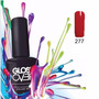 Esmalte Gel Uñas Tipo Gelish Gloss Over Color Velvet Red