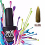 Esmalte Gel Uñas Tipo Gelish Gloss Over Color Oro Magic 15ml