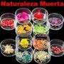 12 Balines Colores Diferente Decoracion Uñas Acrilico Caviar