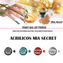 Acrilico Uñas Decoracion Mia Secret Coleccion Sparks Gelish