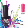 Esmalte Gel Uñas Tipo Gelish Gloss Over Color Bright Pink