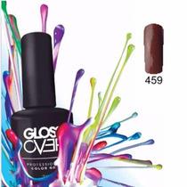 Esmalte Gel Uñas Tipo Gelish Gloss Over Color Hershey
