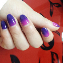 Gel Uv (gelish) Para Lampara Cambia De Color Con Temperatura