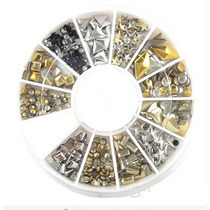 Uñas Carrete Piedra Cristal Decoracion Accesorio Acrilico