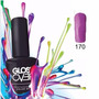Esmalte Gel Uñas Tipo Gelish Gloss Over Color Grape Uva 15ml