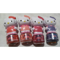 Pintura De Uñas No Toxica Removible Hello Kitty! Original