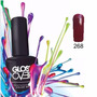 Esmalte Gel Uñas Tipo Gelish Gloss Over Color Blood Rojo