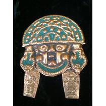 Figura Prehispanica En Cobre