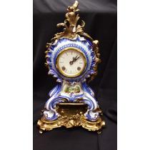 Reloj De Porcelana Capodimonte