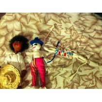Muñecos Y Pulsera Hechos A Mano