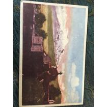 Postal Antigua Lotería Nacional Boleto De 7 De Mayo De 1947