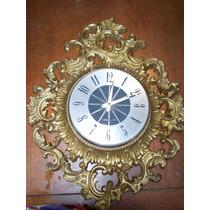 Shabby Chic,bello Reloj De Pared Marco De Pasta (no Funciona