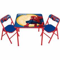 Mesa De Actividades Infantil Para Niño Cars,spiderman,sesamo
