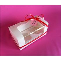 25 Cajas Para 2 Cupcakes (panquecito,muffin,kekito)