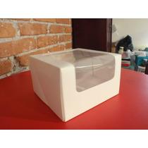 Paquete Con 5 Cajas Para Cupcakes Y Kekitos Para 4 Cup.