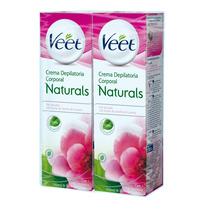 Veet Naturals Crema Depilatoria Promo 2 Por Precio Especial