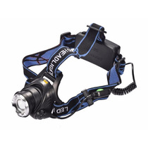 Lampara Led Headlamp Soporte Cabeza Tipo Minero