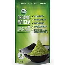 Matcha Té Verde Polvo - Orgánica Potente Antioxidante Japone