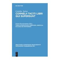 Germania, Agricola, Dialogus De, P Cornelius Tacitus