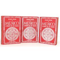 3 Libros De México A Través De Los Siglos.