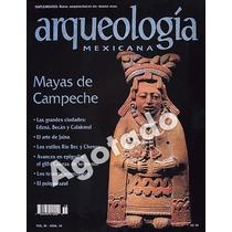 Mayas Campeche.rev.arqueología Mex#18 Original Con Mega Mapa