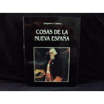 Gregorio Z. Cabeza, Cosas De La Nueva España, 100 Págs.