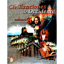 Civilizaciones De Occidente 5/ed Vol. A - Spielvogel / Cenga
