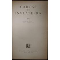 Cartas De Inglaterra - Ruy Barbosa. 1953