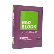 H & R Block 2015 Deluxe + Estado De Impuestos Software