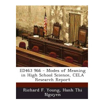 Ed463 966 - Modes Of Meaning In High School, Richard F Young