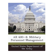 Ar 600-8: Military Personnel, United States Department