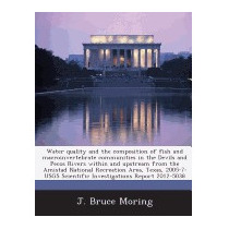 Water Quality And The Composition Of Fish, J Bruce Moring