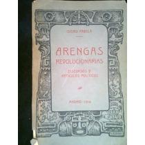 Arengas Revolucionarias Isidro Favela 1916