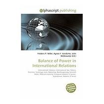 Balance Of Power In International, Frederic P Miller