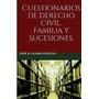 Cuestionarios De Derecho Civil., Jose R Gomis Fuentes
