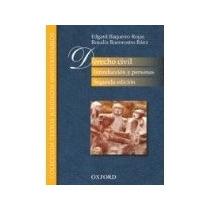 Libro Derecho Civil Introduccion Y Personas 2ed