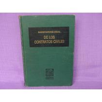 Ramón Sánchez Medal, De Los Contratos Civiles.