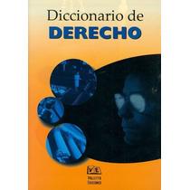 Diccionario De Derecho Juridico Miles Palabras Libro Digital