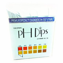 Ph Test Strips - Papel Tornasol Para Pruebas De Ph 4,5 A 10