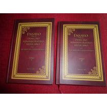 Historia Derecho Administrativo Mexicano Facsimil 1875