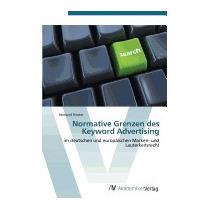Normative Grenzen Des Keyword Advertising, Riester Reimund