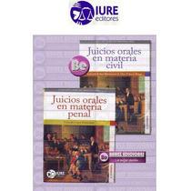 Coleccion Derecho Procesal Oral, Juicios Orales 2 Vols Iure