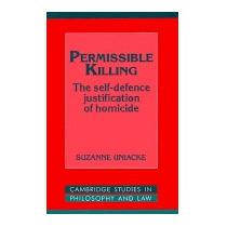 Permissible Killing, Suzanne Uniacke