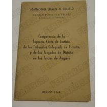 Libro Adaptaciones Legales De Bolsillo Porte Petit Mexico 68
